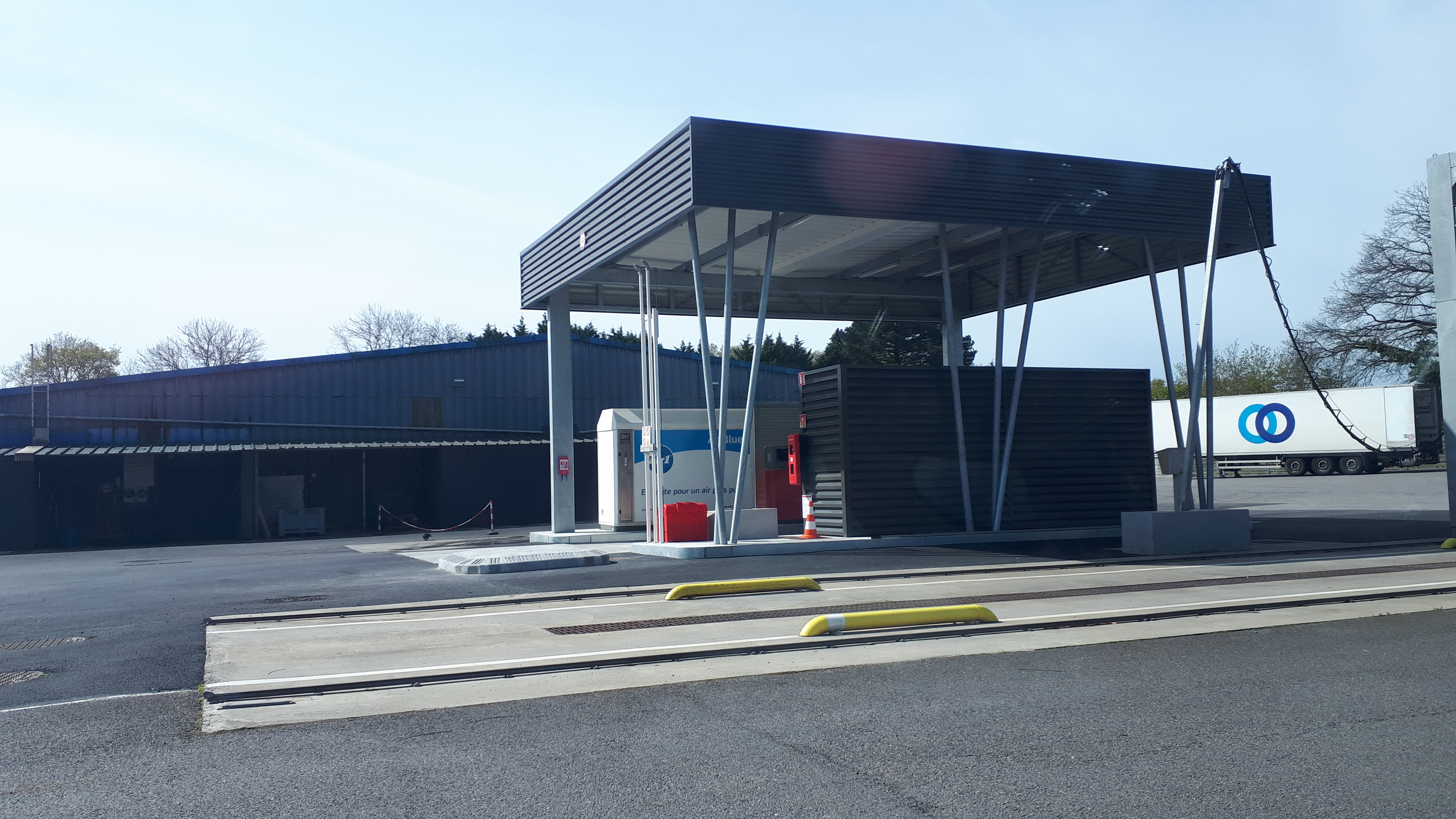 Station de carburant privative à Quimper