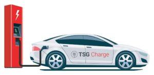 TSG Charge Elektromobilität e Ladestation für Autos Ladestation für Elektroautos