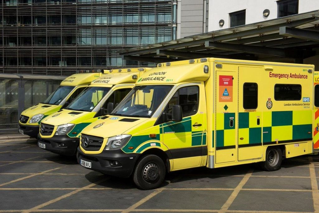 London Ambulance services (LAS)