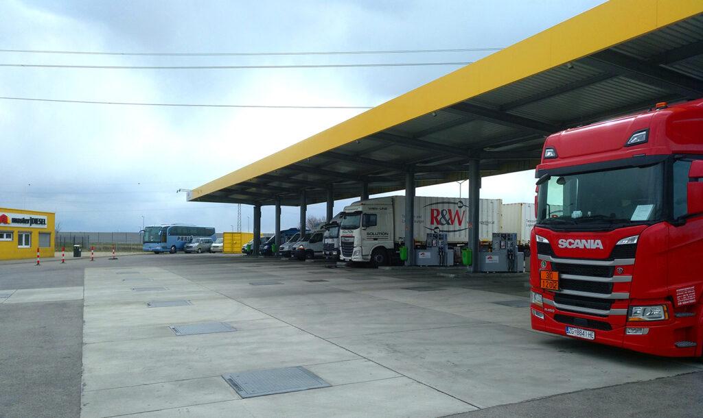 masterdiesel Tankstellen Wien Süd